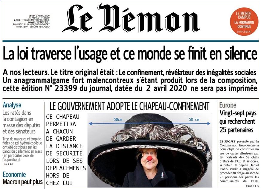 2020-04-05 - Le Démon